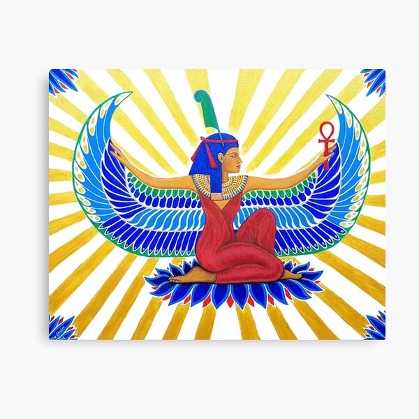 Maat Egyptian Goddess of Truth and Balance Canvas Print