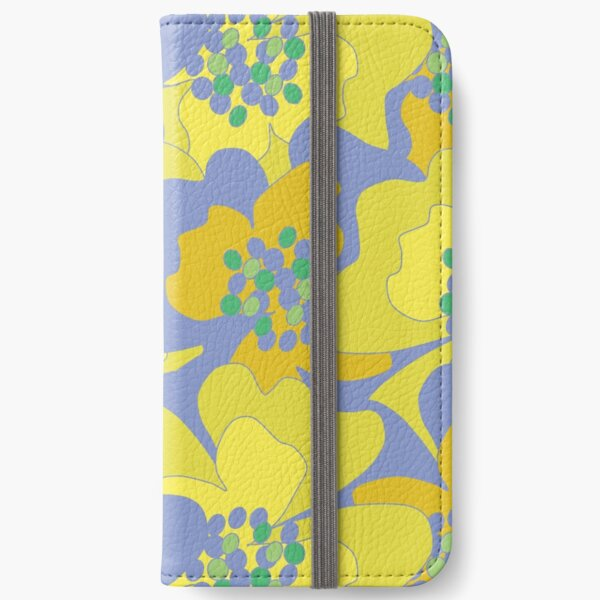 Lovers Passion Flowers 1 iPhone Wallet