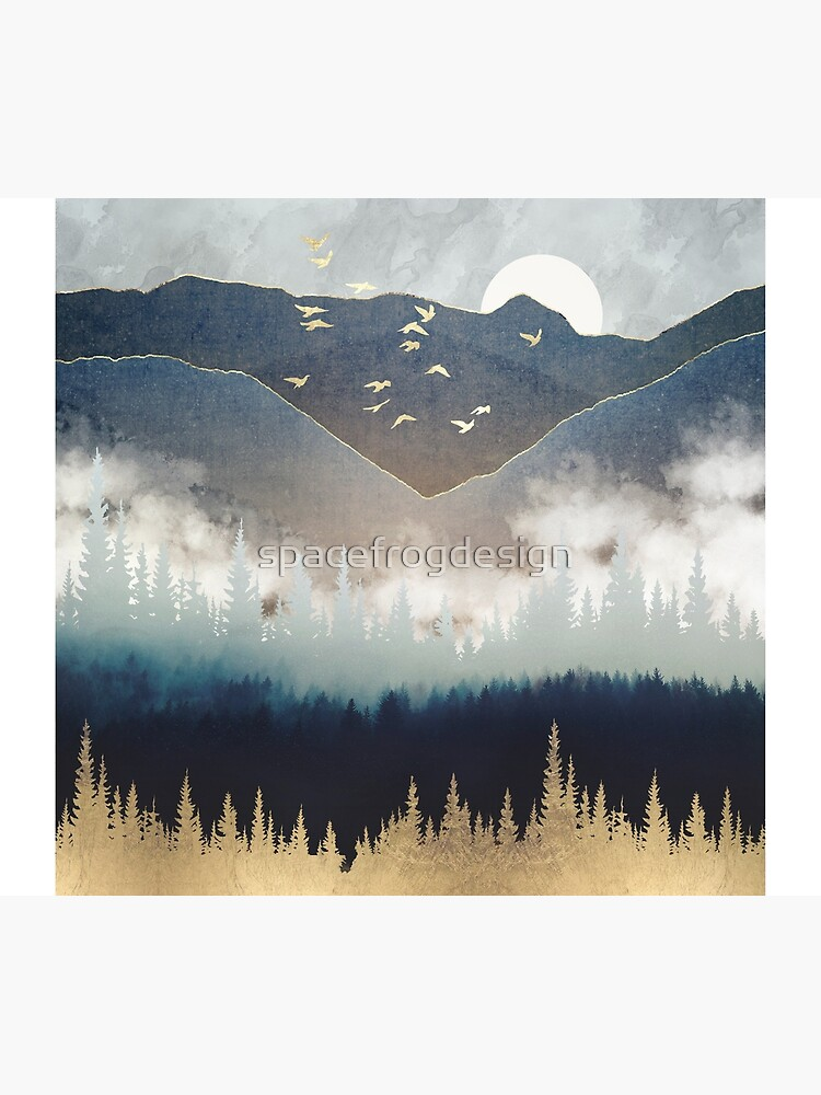 Blue Mountain Mist by spacefrogdesign