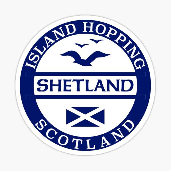 Shetland, Scottish Islands Sticker Sticker