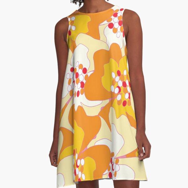 Summer Flowers Delight 2 A-Line Dress