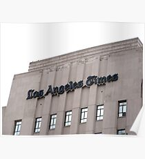 "The ""Old L.A. Times"" Building Poster"