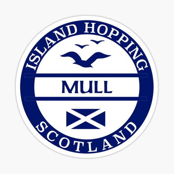 Mull, Scottish Islands Sticker Sticker
