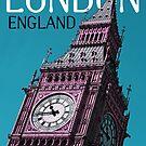 Big Ben in london by sumners