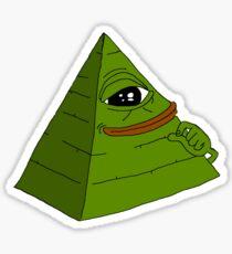Illuminati Ultra Rare Pepe #33 Sticker