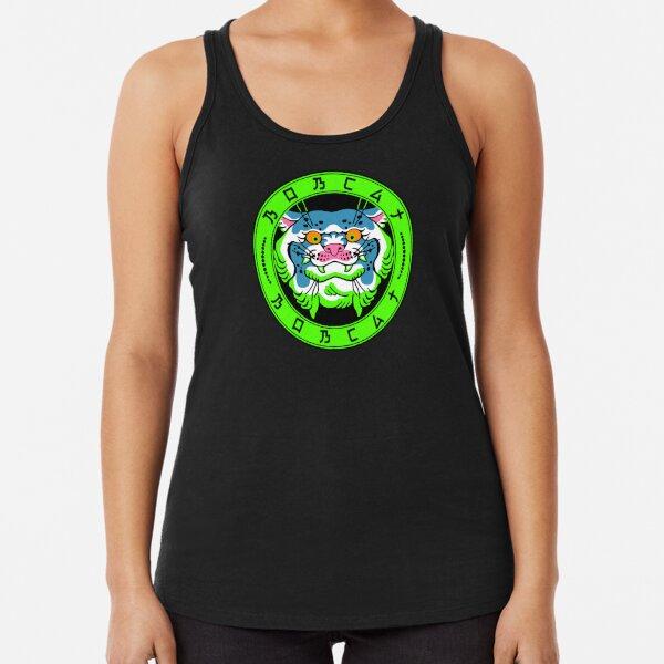 Bobcat logo Racerback Tank Top