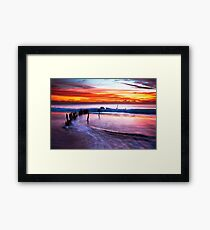 The Driving Force Framed Print