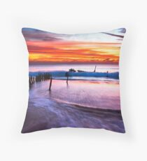 The Driving Force Throw Pillow