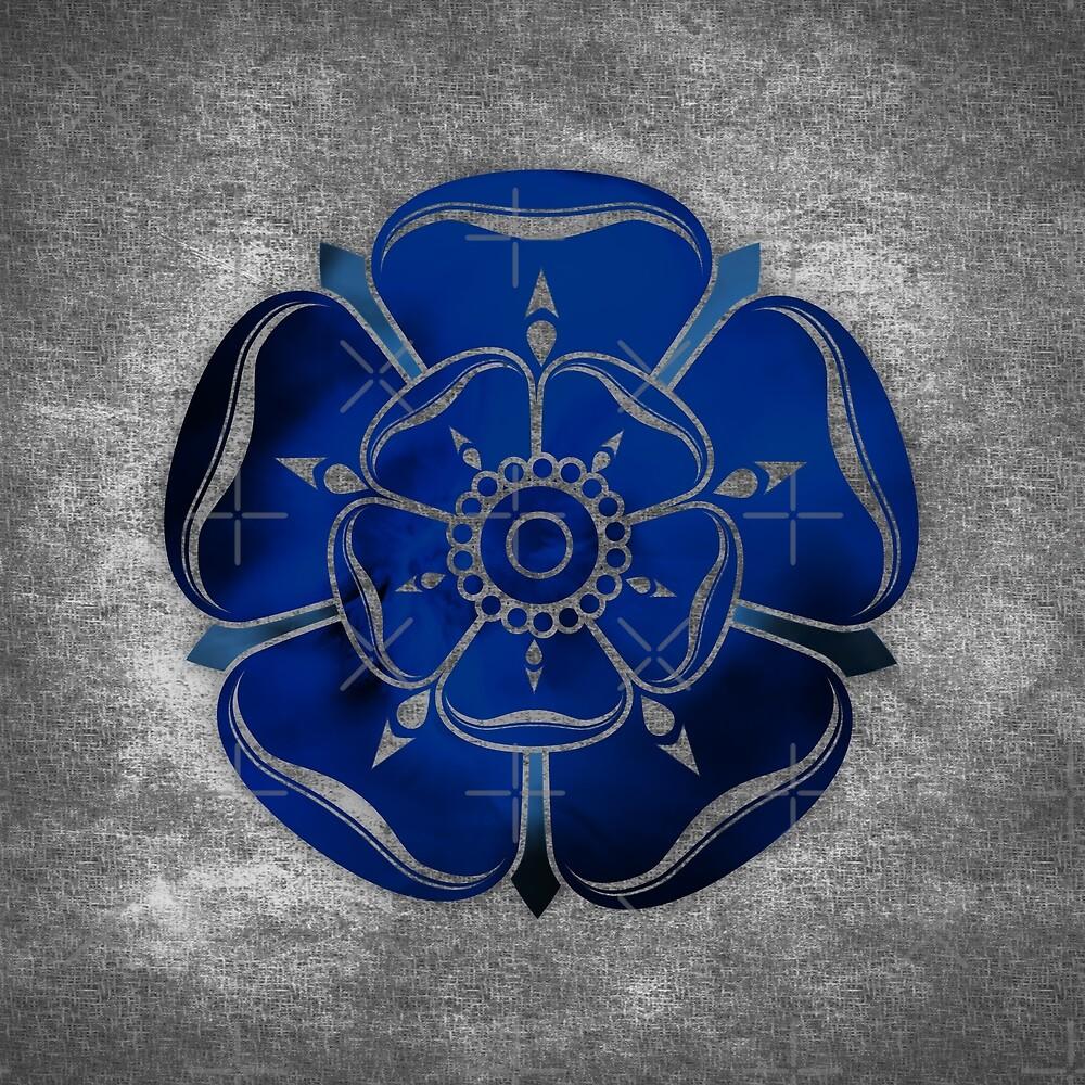 Blue Rose by Digital Phoenix Design