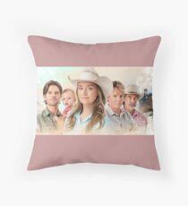 Heartland - family Throw Pillow