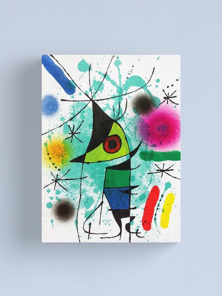 Alternate view of Miro's Penguin - Vintage Modern Art Print Canvas Print