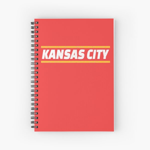 Kansas City Locals Football KC Kingdom Kc Hometown Gear Spiral Notebook