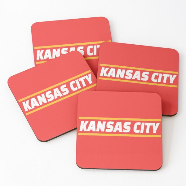 Kansas City Locals Football KC Kingdom Kc Hometown Gear Coasters (Set of 4)