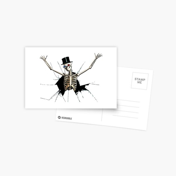 WELCOME Carte postale