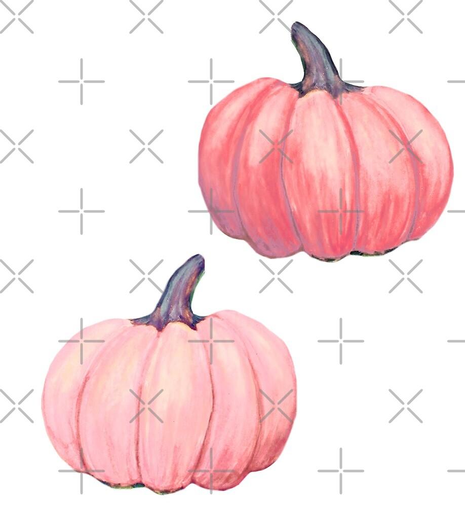 Blush Pink pumpkin by MagentaRose