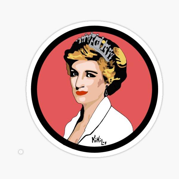 Princess Diana  Pegatina