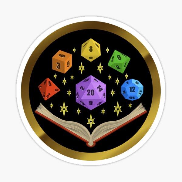 The Dungeon Master Sticker
