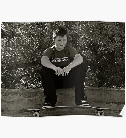 Skater Boy.....Tan Tien Style! Poster
