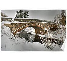 Bridge over the Moy Burn Poster