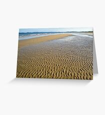 Ripples On North Mission Beach 4 Greeting Card