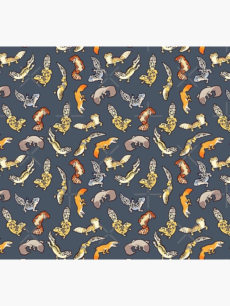 chub geckos in dark grey by Colordrilos
