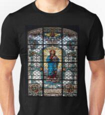 Votive Stained Glass Window Unisex T-Shirt