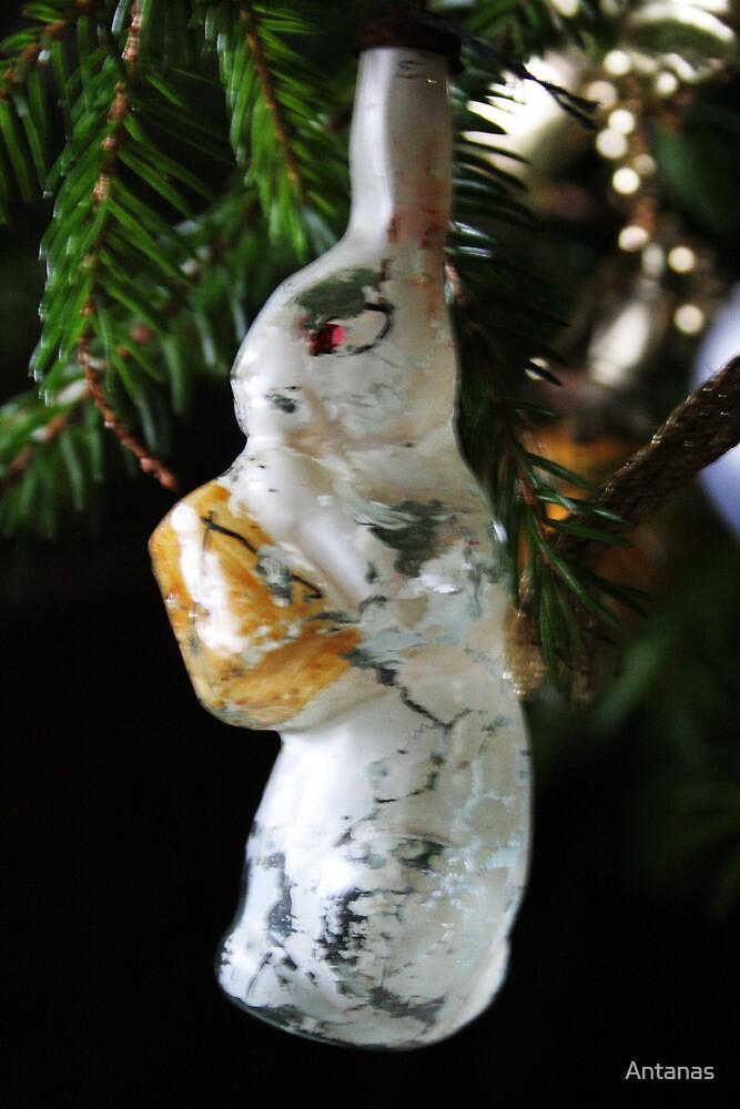 Christmas toys 50 years ago (Santa`s Hare) by Antanas