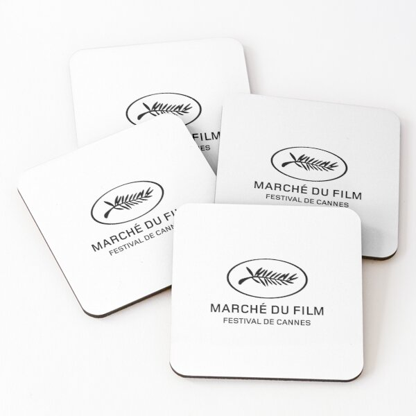 Cannes Marche Du Film Coasters (Set of 4)