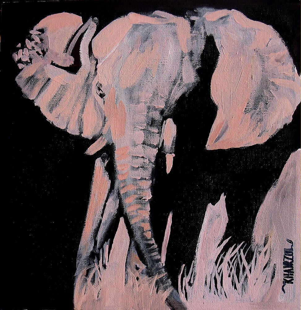 Charged - Elephant by Khairzul MG