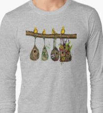 Oriole Nests - No place like home (Rainbow) Long Sleeve T-Shirt