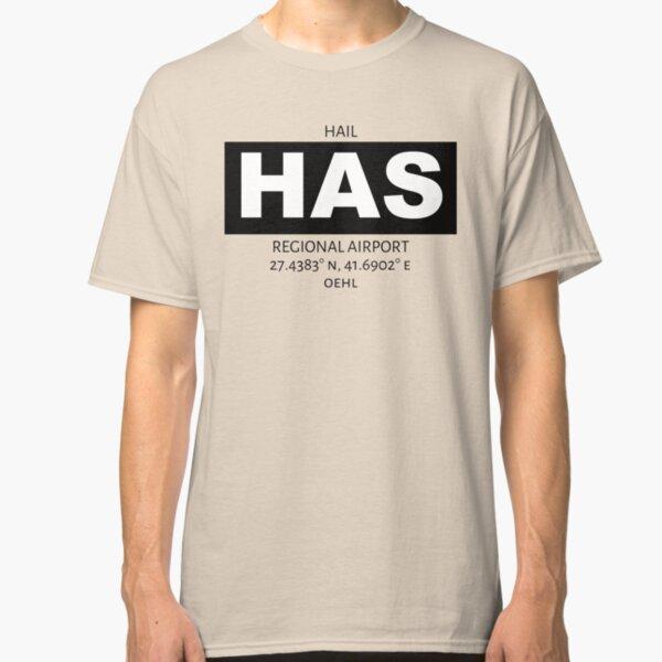 Hail Regional Airport HAS Classic T-Shirt