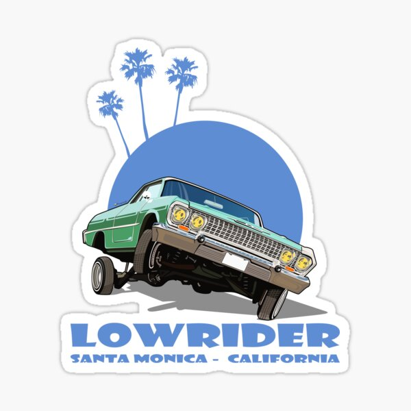 Cars Lowrider Stickers | Redbubble