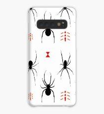 Latrodectus Black Widow spider pattern Case/Skin for Samsung Galaxy