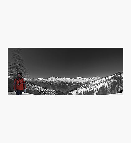 Ski Patrol Photographic Print
