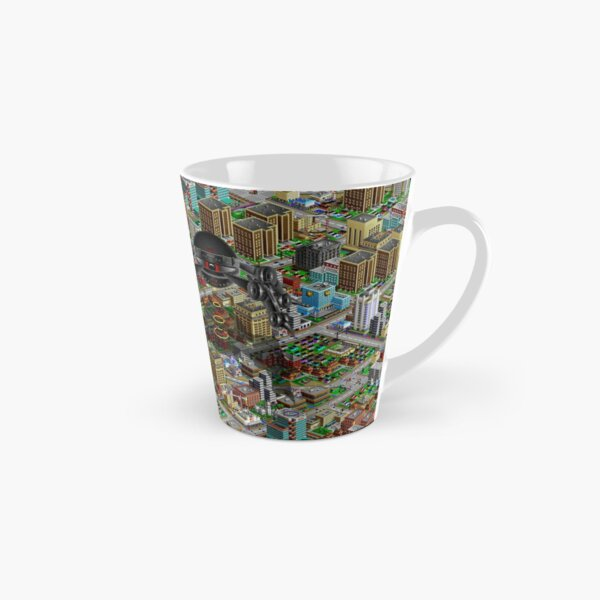 SimCity 2000 No logo Sim City Zoom - HD (High Contrast) Tall Mug