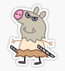Peppa Slayer Sticker