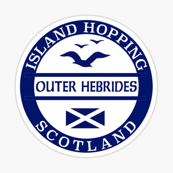 North Uist Na h-Eileanan Siar Scotland Small Island Crest Pin Badge