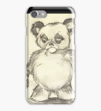 Parts Unknown Posters 'Rumble Bear' logo by Sehik iPhone Case/Skin