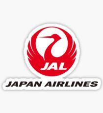 Japan Airlines Sticker
