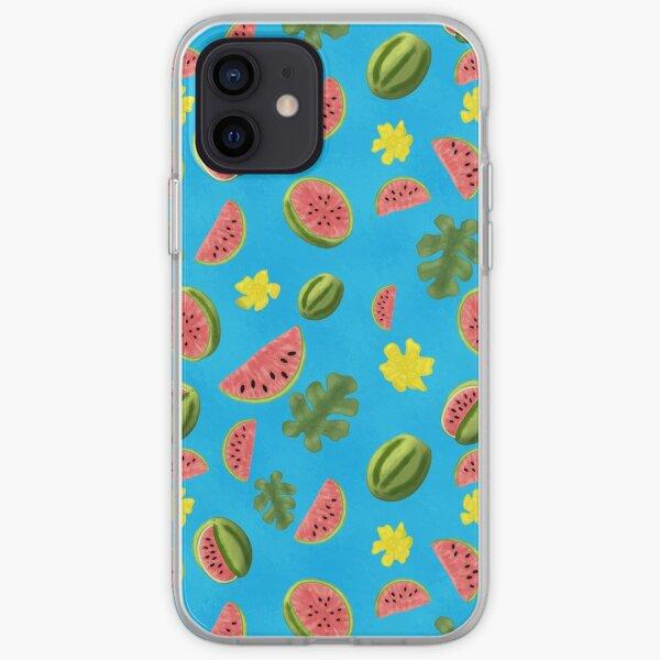 Summer Watermelon Pattern iPhone Soft Case