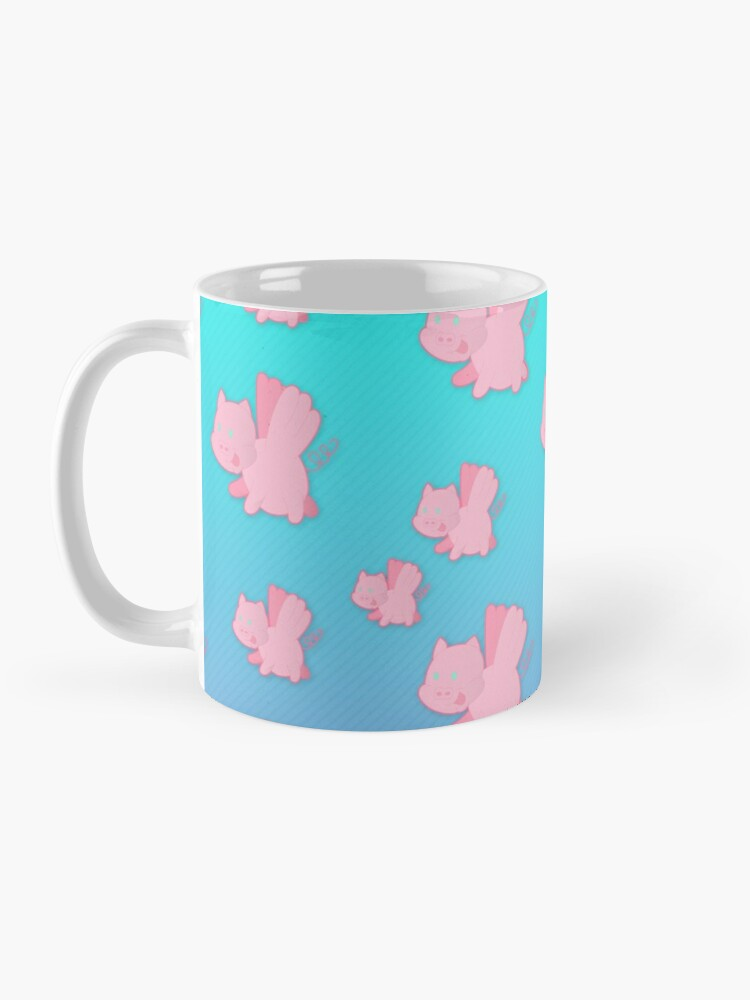 Alternate view of When Pigs Fly Mug