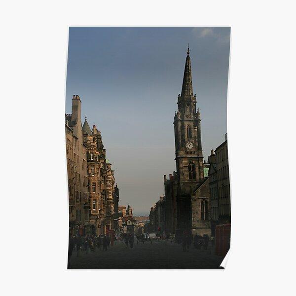 Royal Mile, Edinburgh Poster