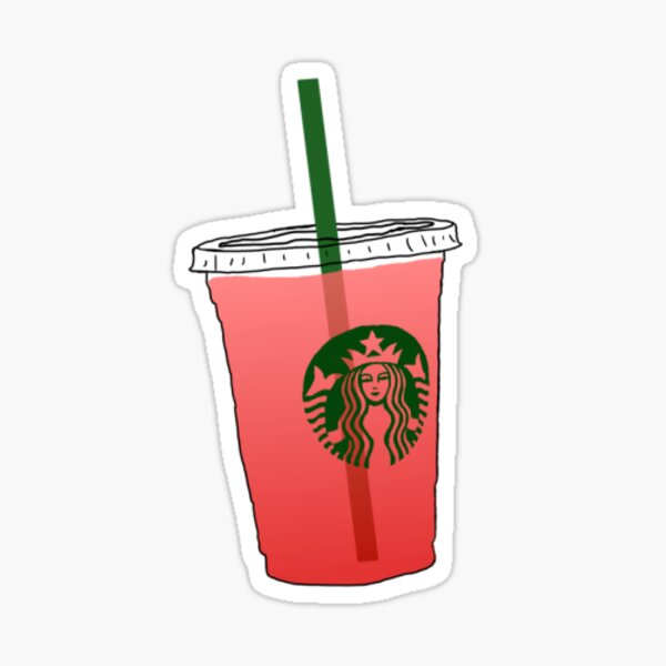 Strawberry Passion Refresher Sticker