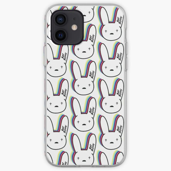 Bad Bunny Logo Funda blanda para iPhone