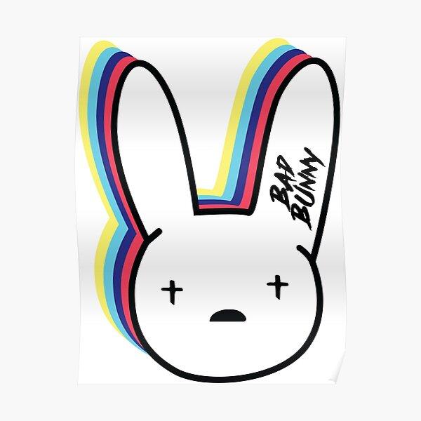 Bad Bunny Logo Póster