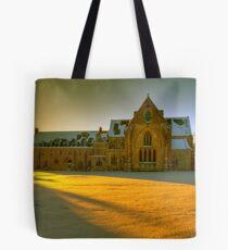 Golden light Tote Bag