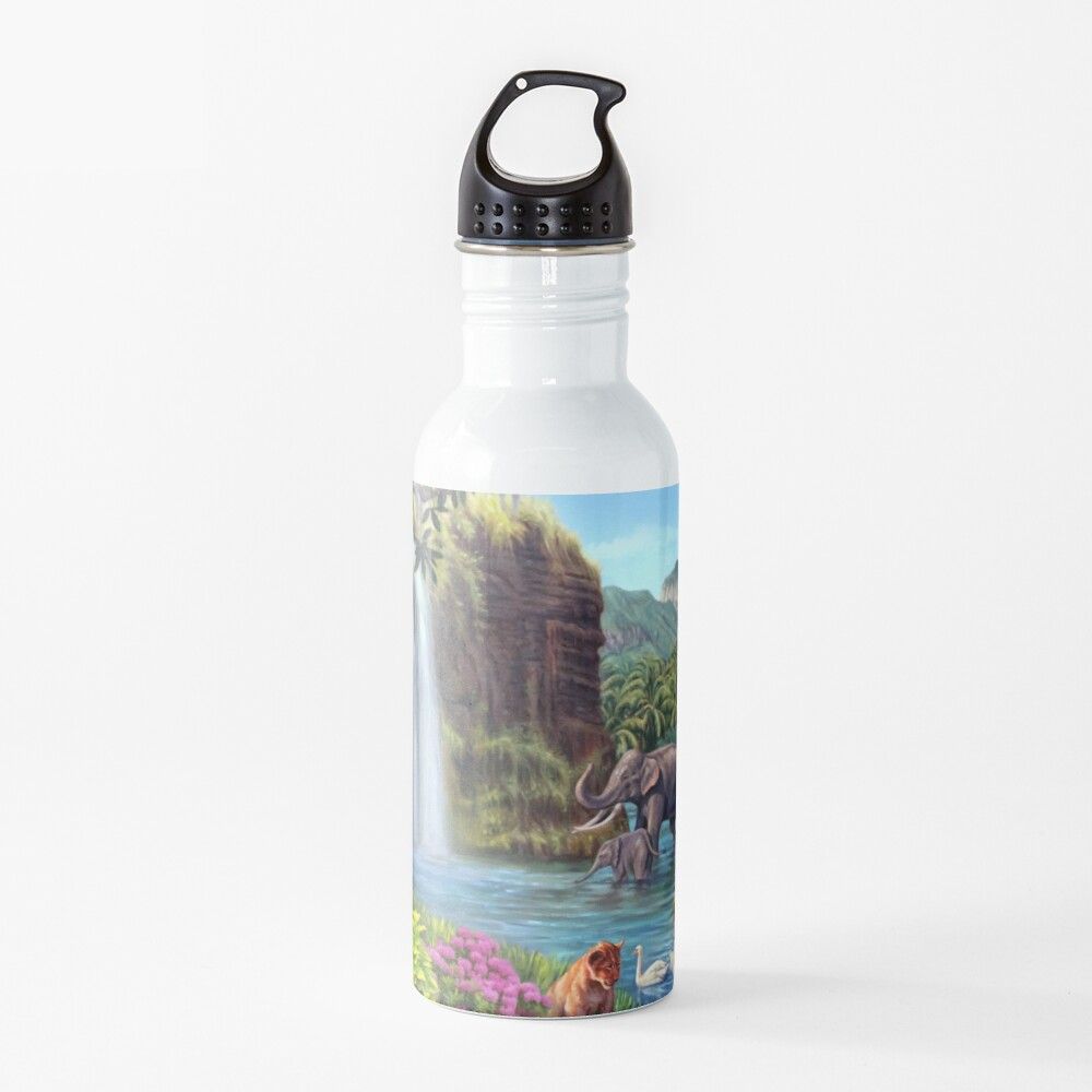A Paradise Setting Water Bottle