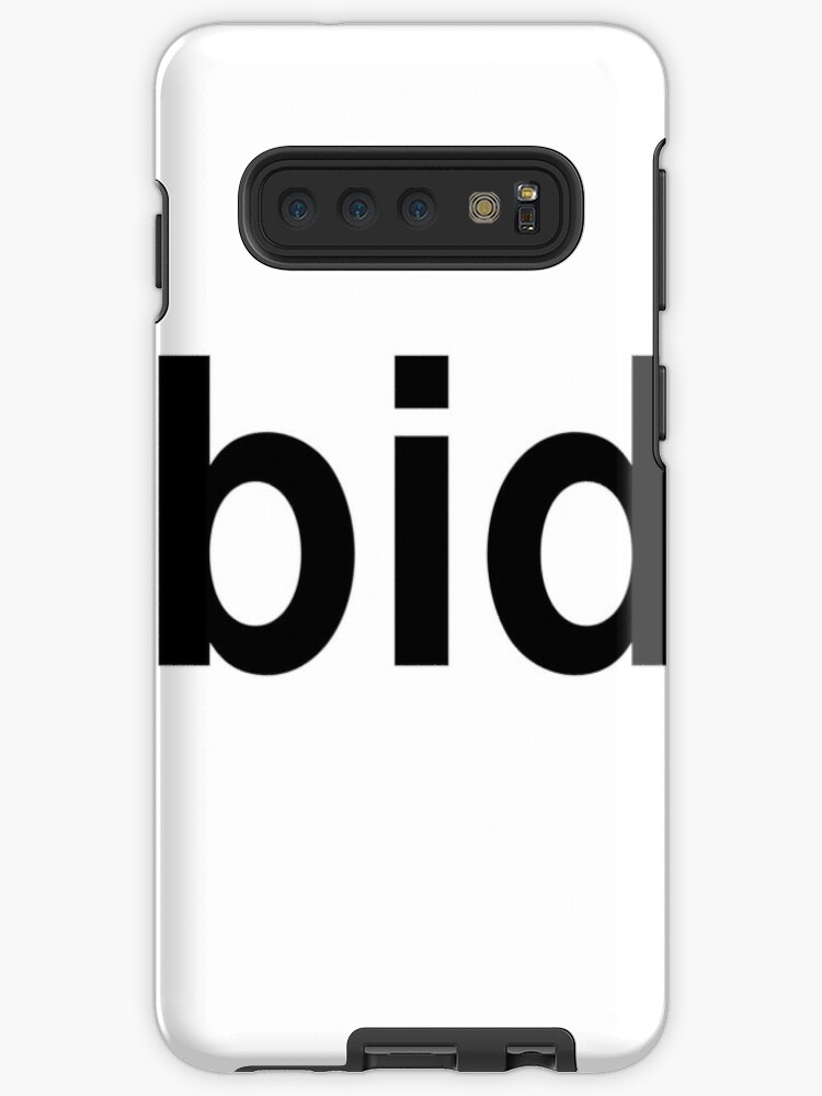 Bid Case Skin For Samsung Galaxy By Ninov94 Redbubble