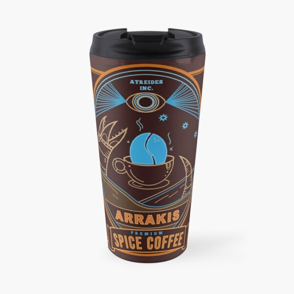 Dune Arrakis Spice Coffee Travel Mug