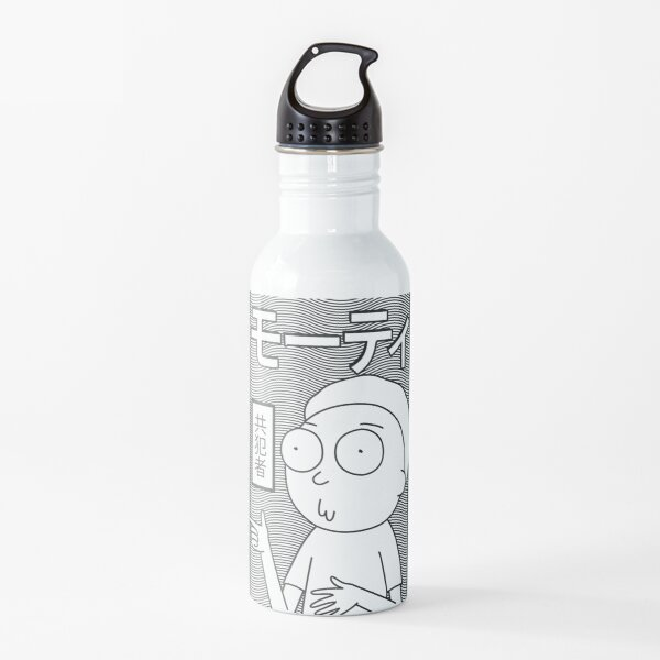 Rick and Morty | Retro Japanese Morty Water Bottle